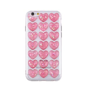SPD TPU HEARTS SAMSUNG S8 PINK backcover