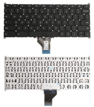 Πληκτρολόγιο Laptop - Keyboard for Acer Chromebook C720P-2666 C720P-2625 C720-2800 C720-3871 9Z.NB0SQ.001 NSK-RA0SQ 01 AEZHNU00010 ZHN NK.I1117.026 (Κωδ.40468USNOFRAME)