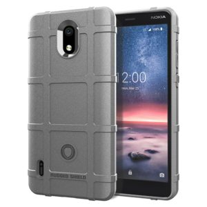 Full Coverage Shockproof TPU Case for Nokia 3.1A(Grey)