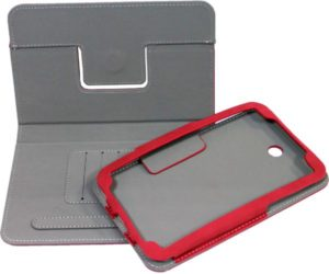 Case No brand for Samsung N8000 Note 10.1'', Red - 14537