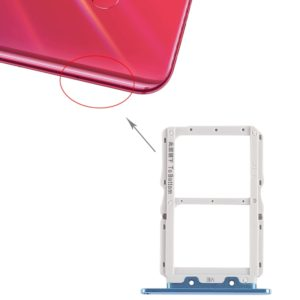 SIM Card Tray + SIM Card Tray for Huawei Nova 4 (Blue)