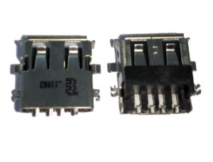 Bύσμα USB Laptop - USB 2.0 A Type A Female Port 4 PIN 32 Port Jack Socket Connector (Κωδ. 1-USB056)