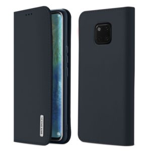 DUX DUCIS WISH Series TPU + PU + Leather Case for Huawei Mate 20 Pro, with Card Slots & Wallet (Blue) (DUX DUCIS)
