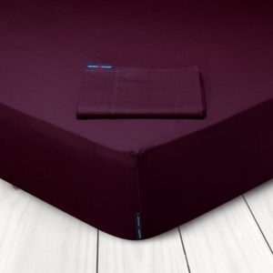 Πανωσέντονο Υπέρδιπλο Primium Bedroom Solid Percale 2205 Bordeaux Cotton Polo Club (240x270) 1Τεμ