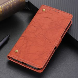 Copper Buckle Retro Crazy Horse Texture Horizontal Flip Leather Case for Huawei Honor 20 Lite, with Holder & Card Slots & Wallet (Brown)