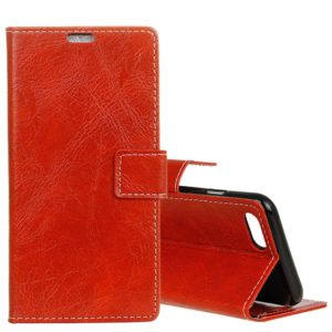 For Huawei nova 2s Retro Crazy Horse Texture Horizontal Flip Leather Case with Holder & Card Slots & Wallet & Photo Frame(Red)