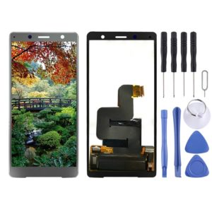 LCD Screen and Digitizer Full Assembly for Sony Xperia XZ2 Compact(Black)