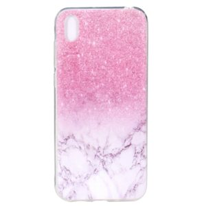 Stylish and Beautiful Pattern TPU Drop Protection Case for Huawei Y5 2019(Marble)