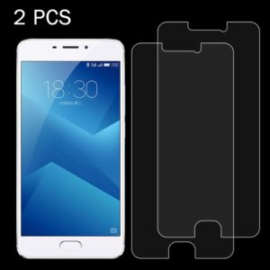 2 PCS for Meizu M5 Note 0.26mm 9H Surface Hardness 2.5D Explosion-proof Tempered Glass Screen Film