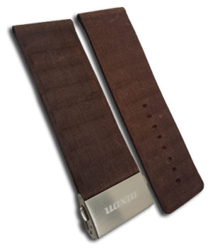 1 NIXON ROTOLOG LEATHER BAND - ΛΟΥΡΑΚΙΑ BROWN STRAPS