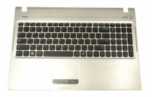 Πληκτρολόγιο Laptop Samsung Q530 Q560 Pk1532 9Z.N5QSN.A0F trba75-02670f (With palmrest) (Κωδ. 40399PALMREST)