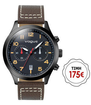 VOGUE 55031.1 Pirate Brown Leather Strap