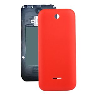 Solid Color Plastic Battery Back Cover for Nokia 225 (Red)