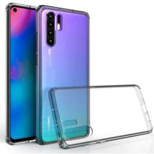 Scratchproof TPU + Acrylic Protective Case for Huawei P30 Pro(Grey)