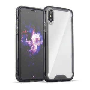 Θήκη Clear Armor PC Case with TPU Bumper για Samsung Galaxy S10 - Μαύρη