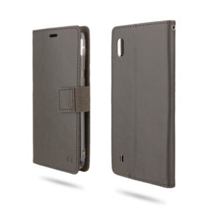 For Galaxy A10 ROAR Shockproof PU + TPU Horizontal Flip Leather Case with Holder & Card Slots(Grey) (ROAR)