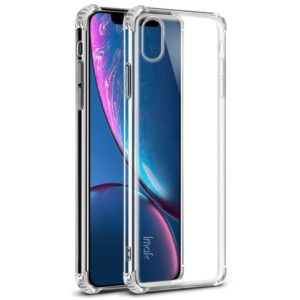 IMAK All-inclusive Shockproof Airbag TPU Case for iPhone XR, with Screen Protector (Transparent) (imak)
