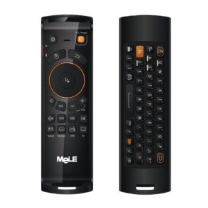 Mele F10 Deluxe 2.4GHz Fly Air Mouse Wireless QWERTY Keyboard Remote Control with IR Learning Function for Android TV Box / Notebook / PC MAC