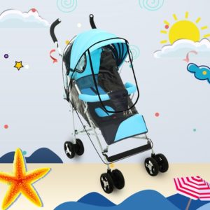 Adjustable Transparent Cover For Golf Carts, Baby Strollers And Wheelchairs To Provide Protection From Rain, Wind, and Mist, even mosquito(Transparent food grade small size u mode)