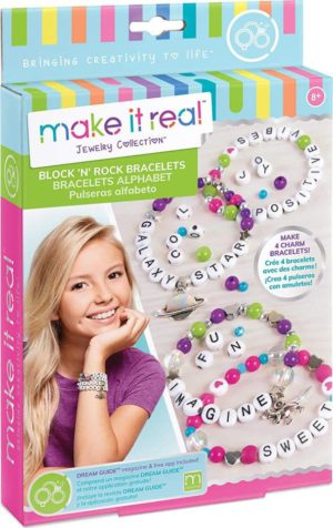 Make it Real - Block N Rock Charm Bracelets (1205)