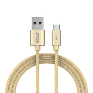 GOLF GC-76M 5A Micro USB Alloy Fast Charging Cable, Length: 1m (GOLF)