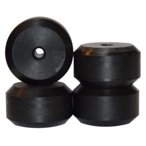 ΡΟΔΑΚΙΑ INLINE ROCES ECO GRINDWHEELS BLACK (ΣΕΤ: 2ΤΕΜ)