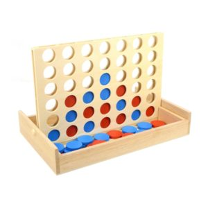 Wooden International Children Educational Toys Vertical Link Board Checkersers