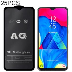 25 PCS AG Matte Frosted Full Cover Tempered Glass For Galaxy A8 (2018)