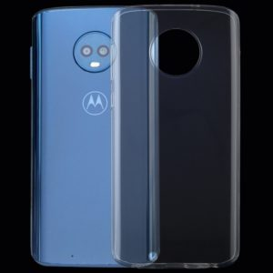 0.75mm Transparent TPU Case for Motorola Moto G6