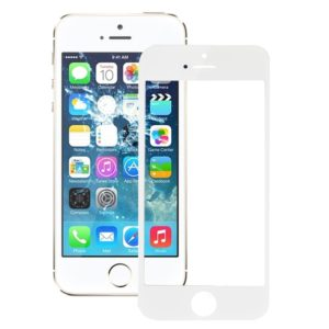 Outer Glass Lens for iPhone 5S Front Screen (White)