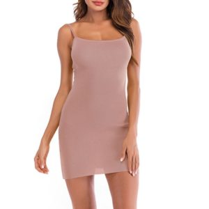 Sexy Open Back Bow Bottom Tube Top Knit Dressale, Size:M(Pink)