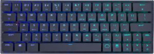 CoolerMaster SK621 Wireless Mechanical Keyboard, Cherry MX RGB Low Profile Switch, Gunmetal (SK-621-GKLR1-US)