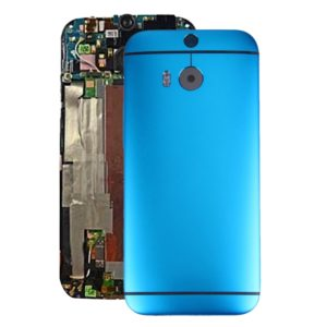 Back Housing Cover for HTC One M8(Blue)