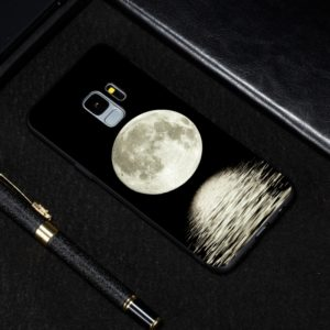 Moon Painted Pattern Soft TPU Case for Galaxy S9+