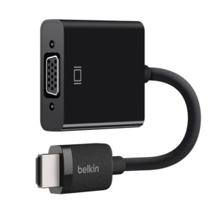 Belkin HDMI® to VGA Adapter with Micro-USB Power - AV10170btΜαύρο