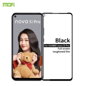 MOFI 9H 2.5D Full Screen Tempered Glass Film for Huawei Nova 5i Pro(Black) (MOFI)