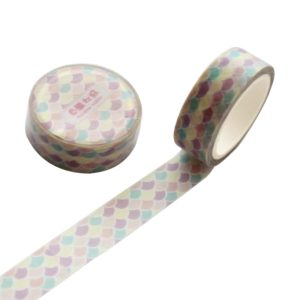2 PCS 1.5cm Wide Cartoon DIY Scrapbooking Sticker Label Masking Tape (house of novelty)