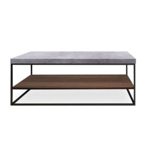 Τραπεζάκι Beton Brown Cement 119x59x45cm 04-0279