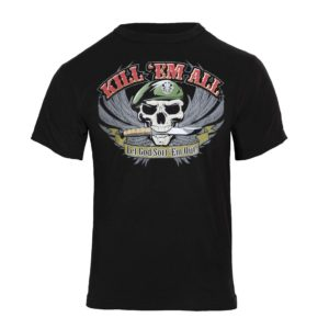 T-SHIRT ROTHCO KILL EM ALL