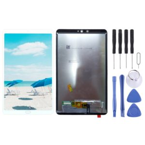 LCD Screen and Digitizer Full Assembly for Xiaomi Mi Pad 4 (White)