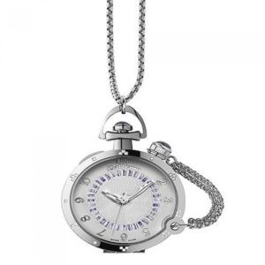 Ρολόι JOHN GALLIANO L elu Stainless Steel Pocket Watch - R1559100545 R1559100545