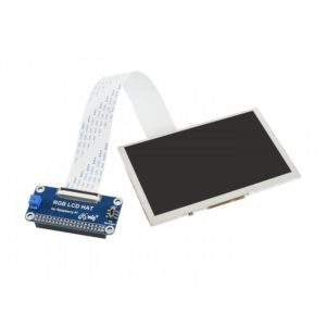 Waveshare 5 inch 800x480 Pixel IPS Display Screen for Raspberry Pi, DPI interface, no Touch (Waveshare)
