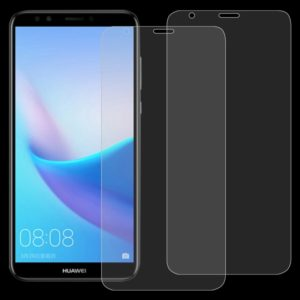 2 PCS 0.26mm 9H 2.5D Tempered Glass Film for Huawei Enjoy 8 / Honor 7C