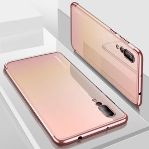 CAFELE Ultra-thin Electroplating Soft TPU Case for Huawei P20 Pro (Rose Gold) (CAFELE)