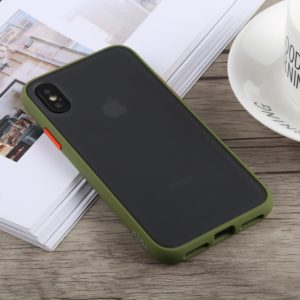 TOTUDESIGN Gingle Series Shockproof TPU+PC Case for iPhone XS Max (Green) (TOTUDESIGN)