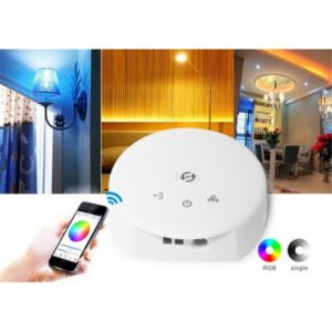 YWXLight RGB Rope Lights LED Lamp Smartphone APP Controller for iOS and Android System, DC 12-24V (YWXLight)