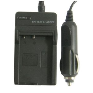 Digital Camera Battery Charger for SANYO DBL40(Black)