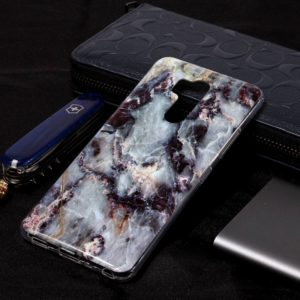Marble Pattern Soft TPU Case For LG G7 ThinQ(Grey)
