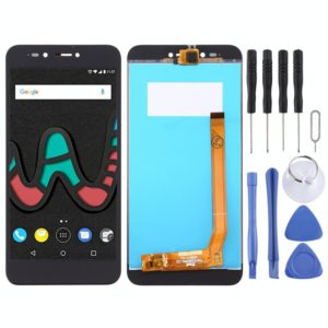 LCD Screen and Digitizer Full Assembly for Wiko Upulse Lite(Black)