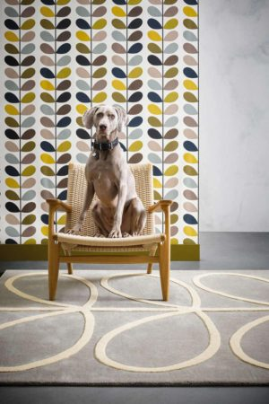 Χαλί Giant Linear Stem 059404 Orla Kiely 160X230cm